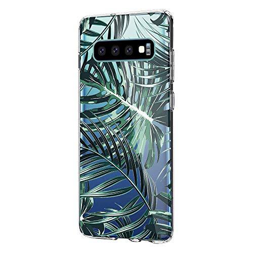 Croazhi Compatible with Samsung Galaxy S10 Plus Hüllen,Galaxy S10e/ S10 Handyhüllen Schutzhülle Durchsichtig Silikon Cover Transparent Bumper Case Tasche 360 Marmor (4, Samsung Galaxy S10)