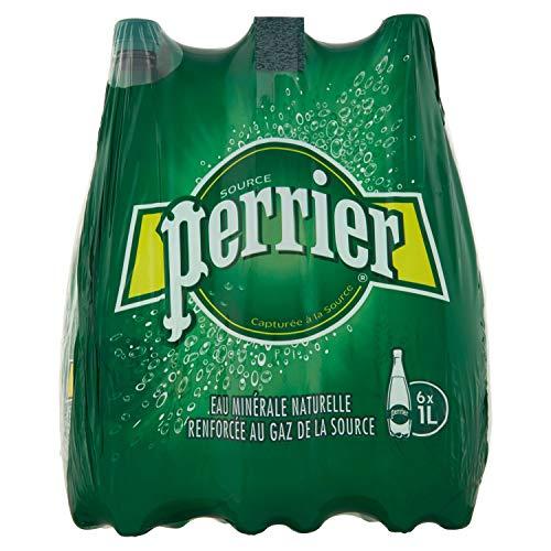 6 Bottiglie Acqua frizzante Perrier - 1L