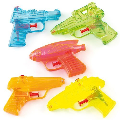 Baker Ross ET4042 Water Pistols Value Pack — Ideal for Kids' Arts and Crafts, Educational Toys,...