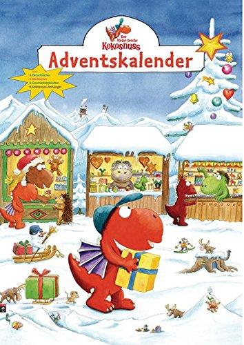 Der kleine Drache Kokosnuss Adventskalender: Auf dem Weihnachtsmarkt