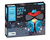Chalk and Chuckles Super Math Spy - Mental Maths, Educational Game, Family Fun and Classroom Number Learning Kit for 7 Years Old and Up Kids