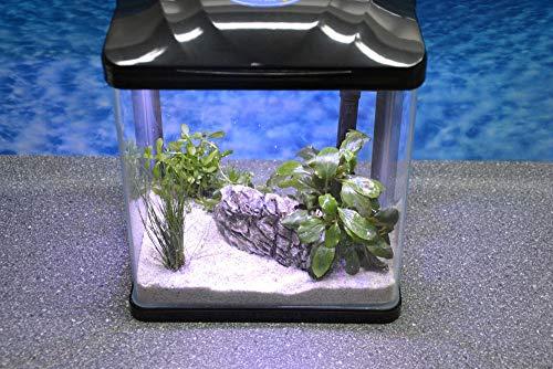 Nano Aquarium der HRC Reihe in verschiedenen Größen und Farben Filteranlage Nanoaquarium Komplett Filter Beleuchtung, HRC ohne Deko:HRC 230 schwarz
