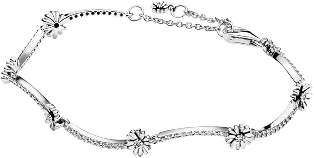 pandora bracciale margherita da donna scintillante in argento sterling 925 598807c01-16