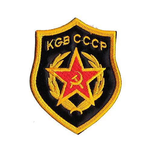 Patch Bordado - Kgb Cccp Serviço Secreto Urss PL60338-418 Termocolante Para Aplicar