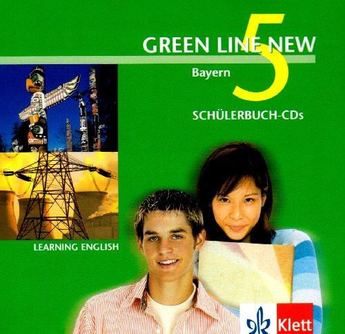 Green Line NEW Bayern: Begleit-CDs zum Schülerbuch Band 5: 9. Schuljahr (Green Line NEW. Ausgabe für Bayern)