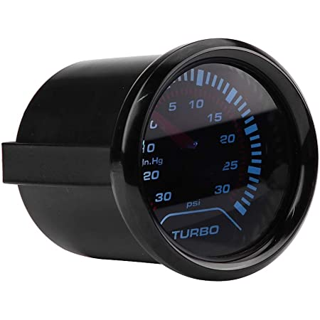 Ladedruckanzeige Turbo Boost Gauge Universal 52mm Auto Smoke Dial Face Turbo Boost Turbolader Manometer Auto