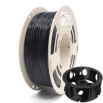 Reprapper High Impact Resistance ABS 3D Printer Filament & 3D Pen 1.75 mm  +/- 0.03 mm  1 kg ABS Filament Black