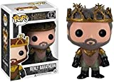 cheaaff Juego de Tronos Pop: Adornos coleccionables de Renly Baratheon en Caja de Vinilo de 10 cm...