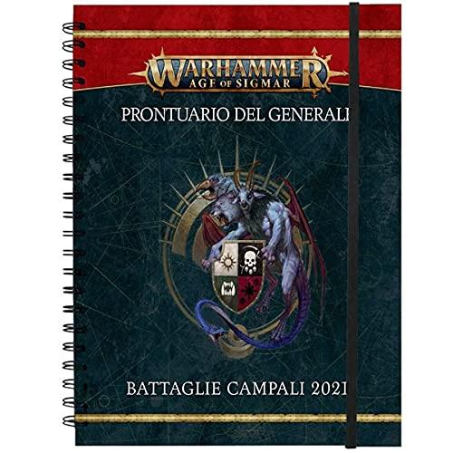 Games Workshop Age of Sigmar - Prontuario del Generale: Battaglie Campali 2021 e Profili Battaglia Campale (ITA)