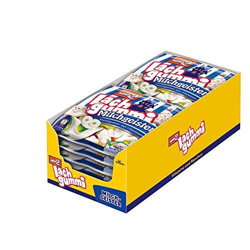 nimm2 Lachgummi Milchgeister (12 x 225g) / Fruchtgummi mit Fruchtsaft & Vitaminen