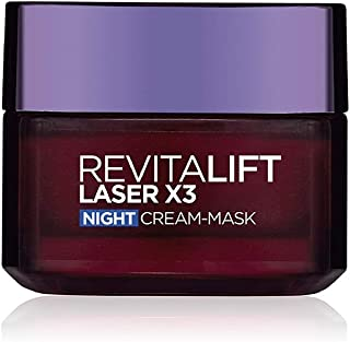 L'Oreal Paris Revitalift Laser X3 Night Cream Mask, 50ml