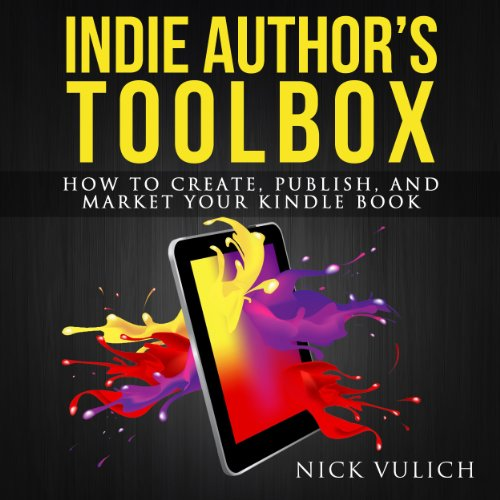 Indie Author's Toolbox audiobook cover art