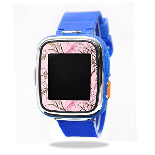 MightySkins Skin Compatible with VTech Kidizoom Smartwatch DX wrap Cover Sticker Skins TrueTimberConceal Pink