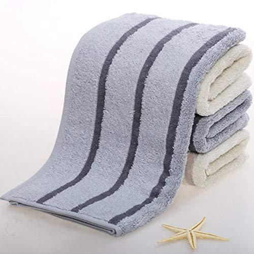 CMZ Toalla de Lavado Diario Simple de algodón Puro Toalla Facial para Hombres Suaves y absorbentes (34x70 cm)