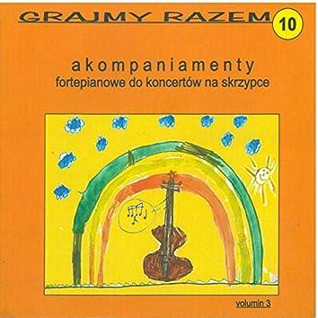 Rieding: Grajmy razem - akompaniamenty fortepianowe do koncertów na skrzypce vol 10