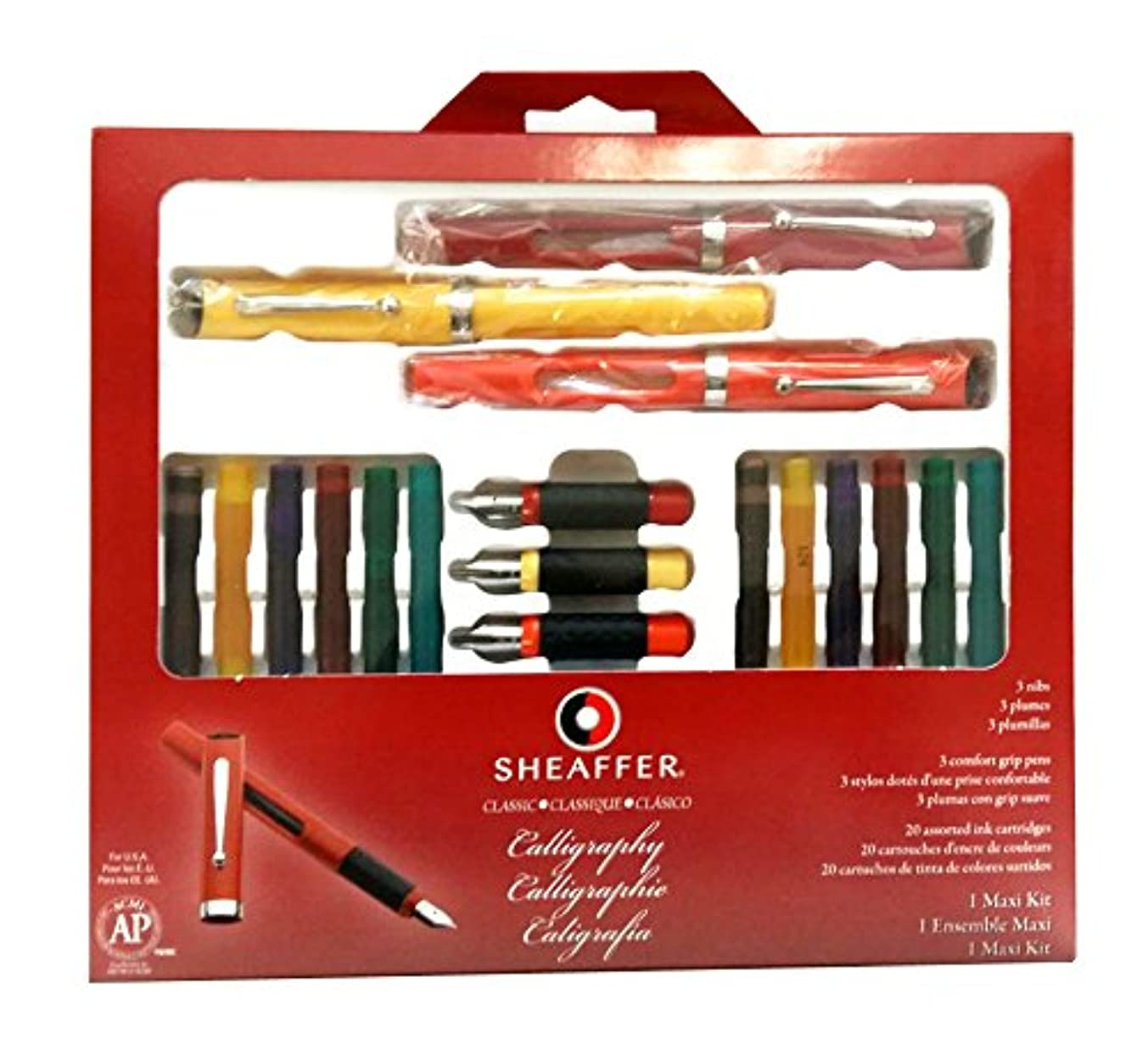 Sheaffer(R) Calligraphy Kit, Set Of 7