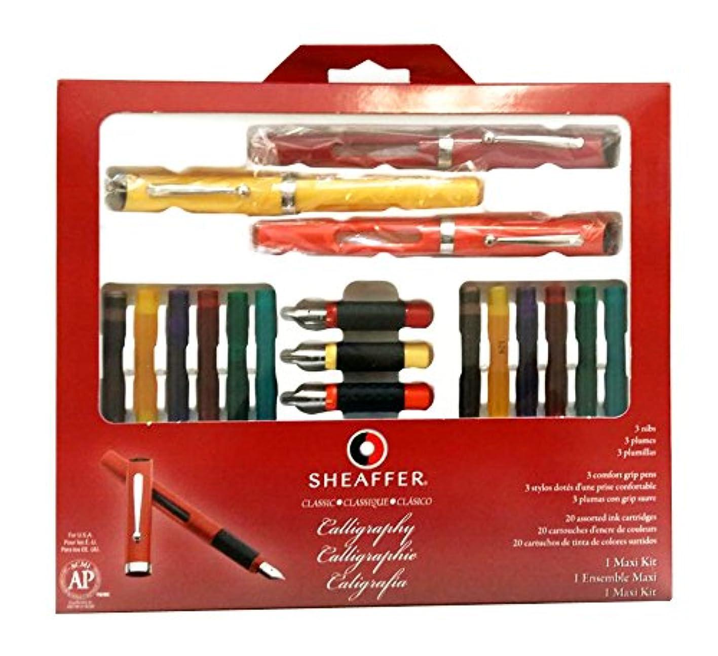 Sheaffer(R) Calligraphy Kit, Set Of 7 xtwboexcssv629