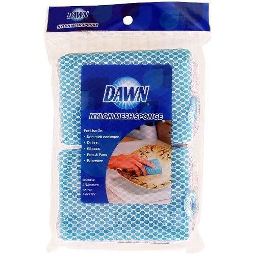 Dawn Nylon Mesh Sponge 2pk