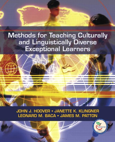 Methods for Teaching Culturally and Linguistically Diverse Exceptional Learners download ebooks PDF Books