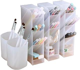 Organizador de escritorio de 5 piezas organizador de bolígrafos almacenamiento para oficina escuela suministros para e...