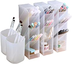 5 Pcs Desk Organizer- Pen Organizer Storage for Office, School, Home Supplies,..