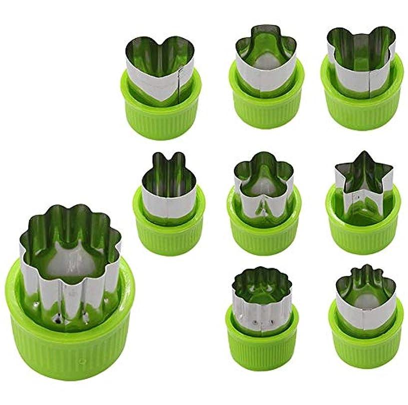 Other Fruit & Vegetable Tools - 9pcs Set Vegetable Cutter Shapes Pie Fruit Cookie Mold Kids Baking Supplement - Tools Fruit Vegetable Other &