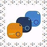 musegear localizzatore Chiavi Bluetooth - Xmas Edizione Limitata -3 Pacchetto - Blu Oscuro,...