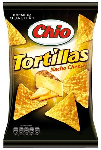10x Chio - Tortillas Nacho Cheese - 125g