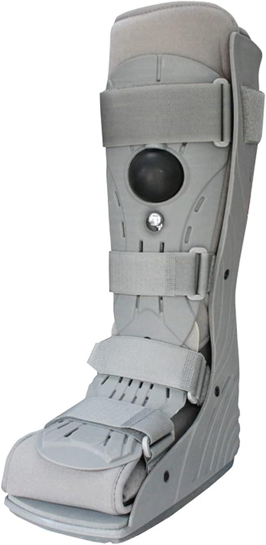 Zapatos De Tobillo Bota De Órtesis para Fracturas para Hombres Y Mujeres Tobillera Ajustable En Lugar De Yeso para Proteger Fijada para Lesiones De Tobillo Fracturas Esguinces,M
