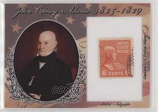 John Quincy Adams #78/90 (Trading Card) 2018 Historic Autographs POTUS - Stamps #ST-JQA