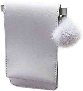 Kwok Women'S Mobile Phone Bag Vertical Cover Type Hairball Purse Crossbody Bag Messenger Bag Shoulder Bag Wallet Mobile Phone Bag
