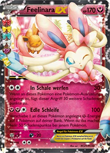 Feelinara EX RC21/RC32 Pokémon XY Generationen Sammelkarte - Deutsch - Cardicuno?