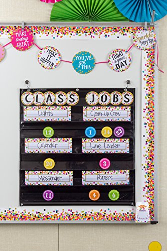 Teacher Created Resources (5609) Confetti Straight Border Trim Photo #2