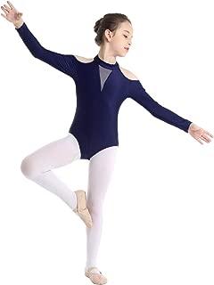 Alvivi Maillot Ballet de Danza Gimnasia para Ni/ña Leotardo de Algod/ón Cl/ásico El/ástico con Tirantes Cruzados a la Espalda para Ni/ña Chica 3-14 a/ños