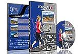 Marches Virtuelles - La Corse pour marche intérieure tapis roulant et vélo d'appartement