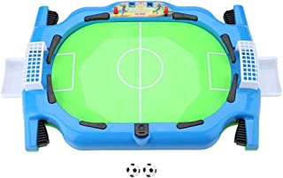 Tabletop Soccer Game, Finger Sports Football Interesting Football Soccer Board Games with Two Balls, Tabletop Toys for Bir...