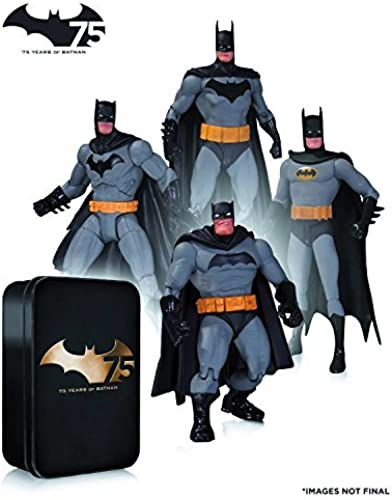 Bathomme   75th Anniversary Action Figure 4PK set 2 by DC Collectible