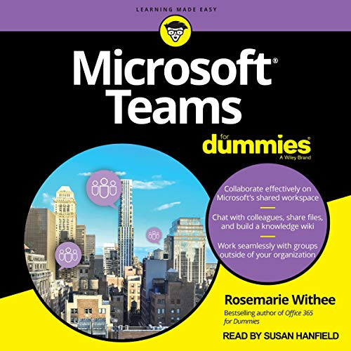 Microsoft Teams for Dummies cover art