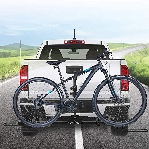 TTLIFE Portabicicletas para coche con capacidad para 2 bicicletas, soporte para bicicleta,...