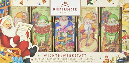 Niederegger Marzipan Brote Wichtelwerkstatt, 5er Pack (5 x 175 g)