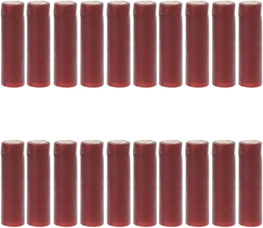 Dolity Set online shopping of Max 55% OFF 200 PVC Heat Shrink Wine Pro Bottle Corks Capsules