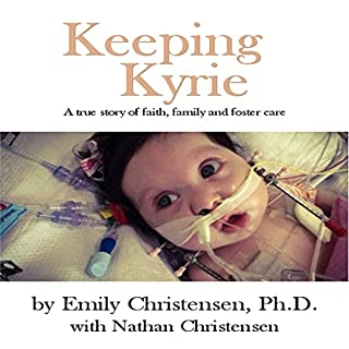 Keeping Kyrie audiobook cover art
