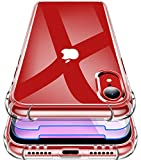 Garegce Case for iPhone XR, 2 Packs Glass Screen
