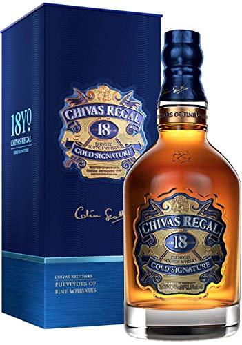 Chivas Regal 18 Jahre   Blended Scotch Whisky   0,7l. Flasche in Geschenkbox