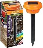 Defenders Mega-Sonic Solar Powered Mole Repeller, Hi-Vis Orange