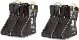 LanHeng Portable 2 Packs,Short Boots Storage/Protector Bag,Boots Cover(Black)