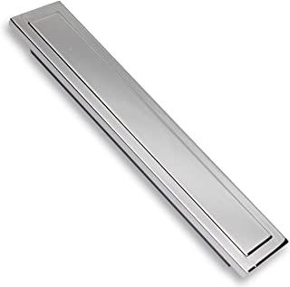 Southern Hills 4-Inch Chrome Cabinet Pull - Pack of 5 - Modern Chrome Bin Cup Drawer Pull Handles SH3949-101-CHR-5