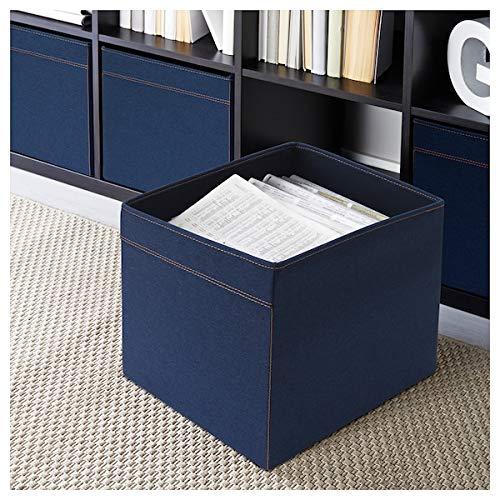 IKEA Drona - Juego de 3 cajas de almacenamiento (33 x 38 x 33 cm), color negro: Amazon.es: Bricolaje y herramientas