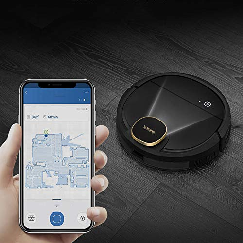 Sale!! Robot Vacuum Cleaner,Sweeping hair,The new upgrade, Voice activated,Super-Thin, 1200Pa Strong Suction, Quiet, Self-Charging, Cleans Hard Floors to Medium-Pile Carpets
