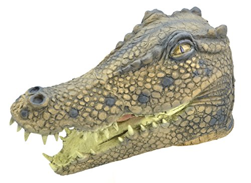 Bristol Novelty BM446 Crocodile Overhead Mask (One Size)